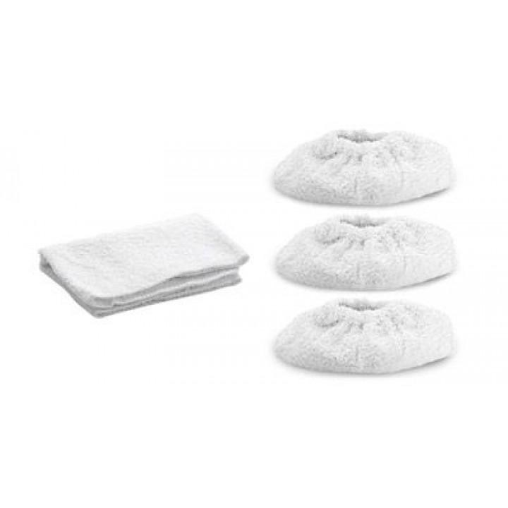 Комплект салфеток из махровой ткани