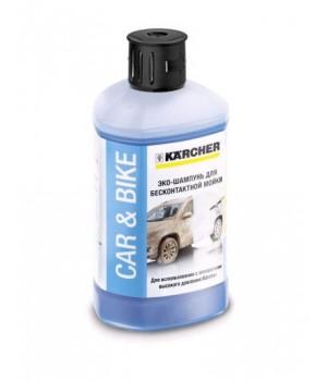 Автомобильный эко-шампунь  для бесконтактной мойки 3 в 1 (1 л)